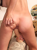 Cutie Tabitha Takes a Ride on a Dildo - 6/14/2013
