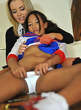 StMackenzies on July10 Ayumi Natsume and Faye Taylor 2