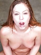 Maddy O'Reilly Nude Slut uncovers her bare fun bags, draws down her underwear and opens her legs and fingers her moist vagina