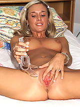 joyce 01 shaved cunt sheer negligee