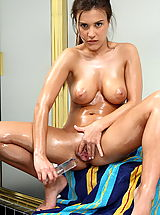 dildo party, andie valentino 01 wet pussy shower